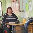 Celia Barden the Manager of Hunts Shopmobility