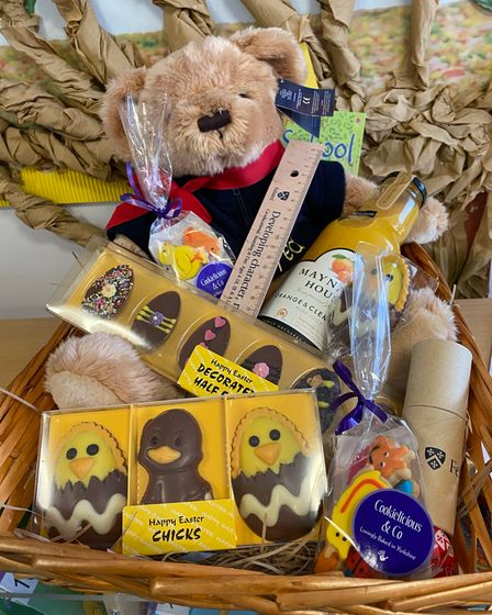 The Felsted Easter hamper prize