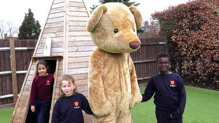 Help FelsTED search for eggs on his virtual Easter egg hunt at Felsted School