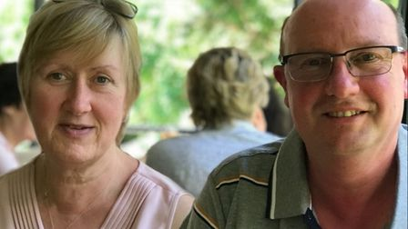 Fiveways Post Office's new owners Viv and Derek Tooze