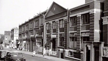 An archive picture of Decca Studios in West Hampstead's Broadhurst Gardens.