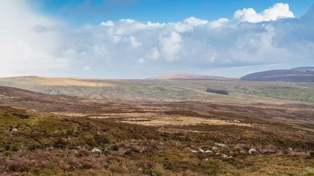 View From Dunkenshaw Fell