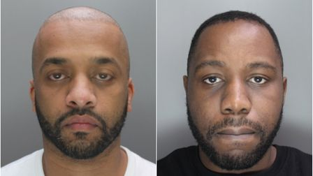 Samir Awyes of Aintree Avenue, East Ham and AdrianMyrie of Paragon Close, Canning Town.