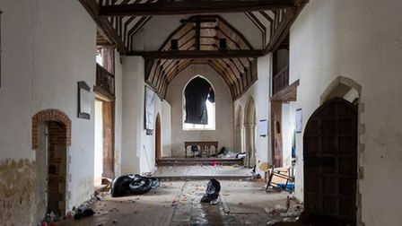 All Saints, East Horndon after the rave