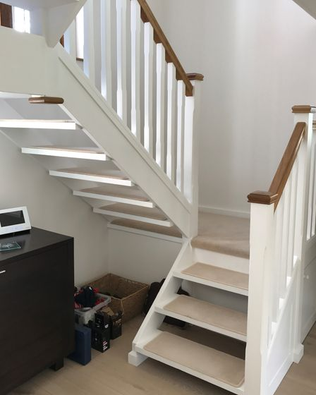 Home improvements and refurbished staircase by Hampshire Staircase Refurbishments