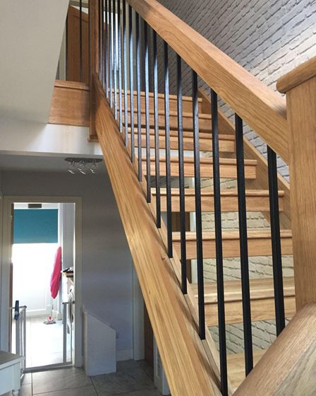 Hampshire Staircase Refurbishments mortice and tenant joints in refurbished staircases