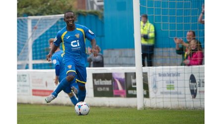 Basingstoke Town's Manny Williams