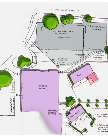 The expansion planned by Chantry Academy