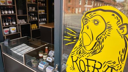 The new Trowse Kofra coffee occupies the former teaching space at the River Green Café.