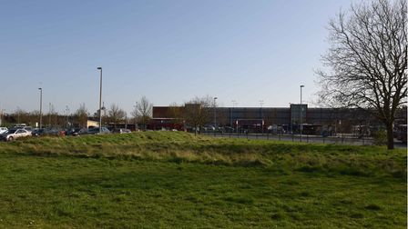 The site of the old Romford Ice Rink which is due for development