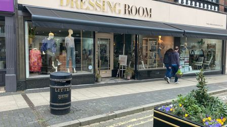 The Dressing Room in St Albans High Street.