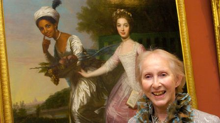 """Lady Mansfield visits New Exhibition """"Slavery & Justice"""" @ Kenwood House"""