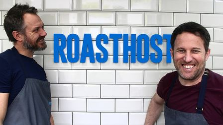 Glen Halsey and Mike Matthews from RoastHost