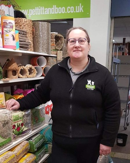 Cheryl Kenny, owner of Rabbit Boarding and Bonding in Norwich