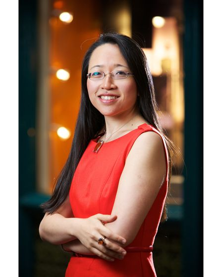International best-selling writer Eugenia Cheng