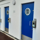 The refurbished toilets on Babbacombe Downs