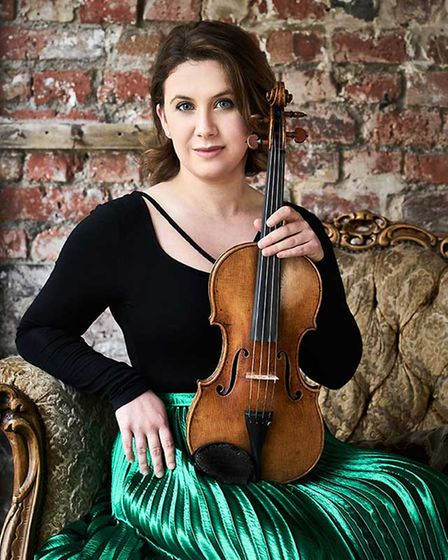 Violinist Chloë Hanslip is this year's Principal Artist at the Hertfordshire Festival of Music.