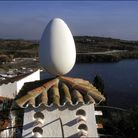 SPAIN - JANUARY 01: The Salvador Dali home and museum : the roof in Port Lligat, Spain on January 0