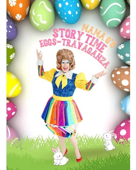Mama G's Story Time Eggs-Travaganza will providean Easter treat.