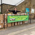 Paul Lorber, of Friends of Barham Community Library,