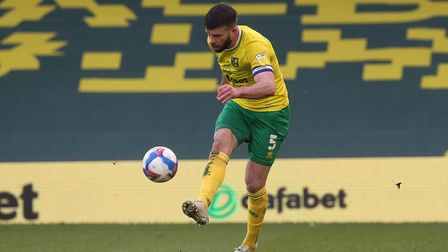 Grant Hanley is Norwich City's only fit senior centre back for the Championship run in