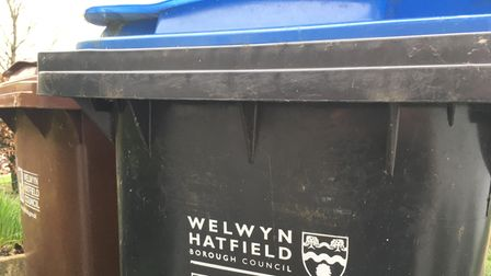 Welwyn Hatfield Council bins