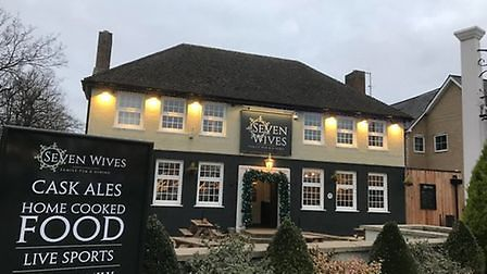The Seven Wives pub at St Ives.