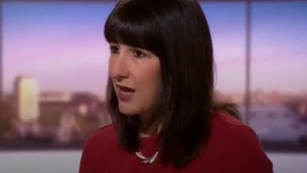 Rachel Reeves, Keir Starmer's shadow cabinet minister. Photo: BBC One.