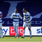 Queens Park Rangers' Chris Willock celebrates scoring their first goal against Coventry