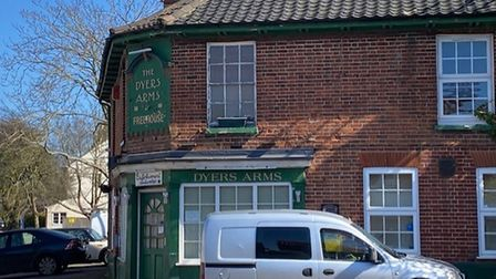 The Dyers Arms in Norwich
