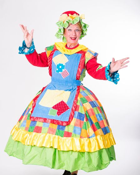 Paul Laidlaw will play the Dame in this year's panto at the Gordon Craig Theatre in Stevenage.