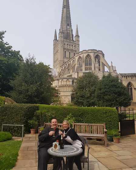 Mr Skipper proposed to Miss Paul on the bell tower while they were ringing the peregrine falcons.