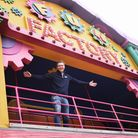 Director Jamie Jones ready to welcome the public back to the Pleasure Beach at Great Yarmouth. Pictu