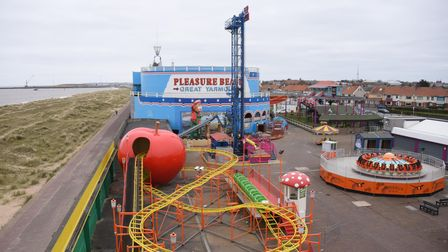 The Pleasure Beach at Great Yarmouth. Picture: DENISE BRADLEY