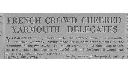 Clipping from the EDP newspaper archive accessed on Local Recall.