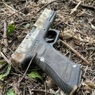 The airsoft pistol found on a litter pick in Chantry today