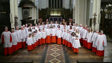 St Mary le Tower in Ipswich is looking for 'musically talented' young people to join its choir