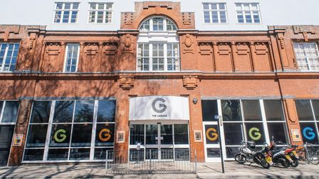 The Garage in Norwich has received funding from the Culture Recovery Fund.