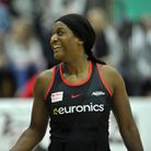 Sasha Corbin in action for Saracens Mavericks