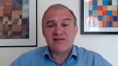 Lib Dem leader Ed Davey has called on the government to stop bailing out companies based in tax have