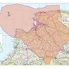 A map of the North Devon Biosphere