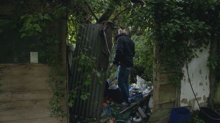 The moment detectives found Ricardas Puisys  in fear and hiding in woodland in Wisbech.