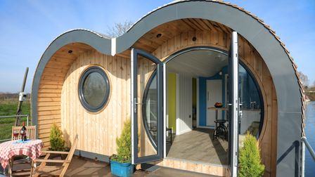 Hippersons Secret Water glamping pod