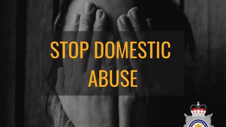Cambridgeshire police launched a campaign last year to tackle the rise in cases of domestic abuse.
