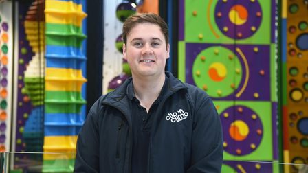 Josh Director of Ipswich Clip and Climb. Clip and Climb Ipswich have put in place Covid measures ahe