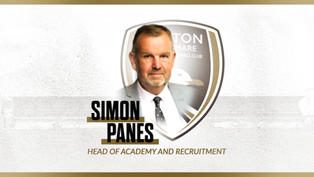 Weston's new Head of Academy and Recruitment Simon Panes