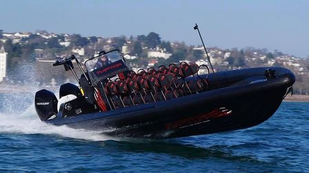 A RIB rise with Torquay Water Sports