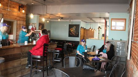 Woodworks Art Cafe have launched the first social prescribing café in Lowestoft
