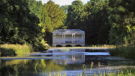 Palladian Bridge at Scampston Gardens and Parkland