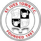 The badge of St Ives Town Football Club